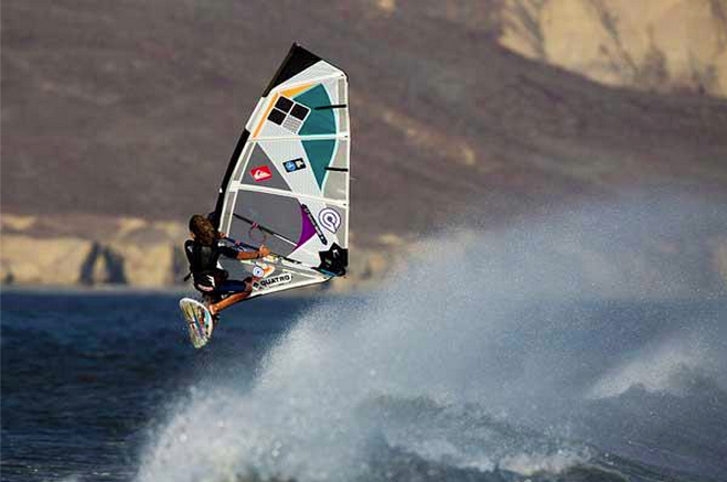 Bernd Roedriger, AWT, AWT Baja, Punta San Carlos, Quatro board, Quatro windsurf, American Windsurf Tour