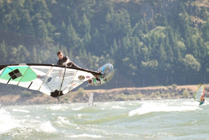 Jake Miller, Goyasails, Quatroboards, Quatro boards, Quatro single fin, The goarge windsurf, Hood river windsurf
