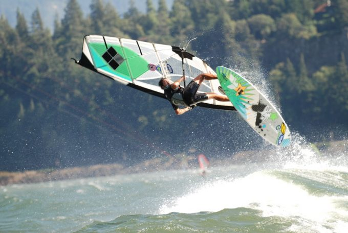 Jake Miller, Goyasails, Quatroboards, Quatro boards, Quatro single fin, The goarge windsurf, Hood river windsurf