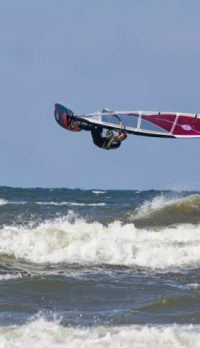 WINDSURF SESSION IN POLAND